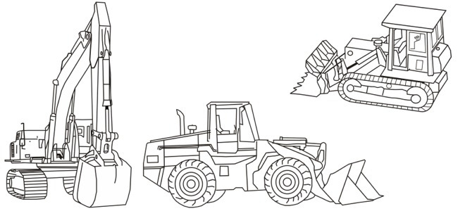 tools and machines coloring pages - photo#25