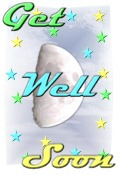Get Well decoration lunar scene