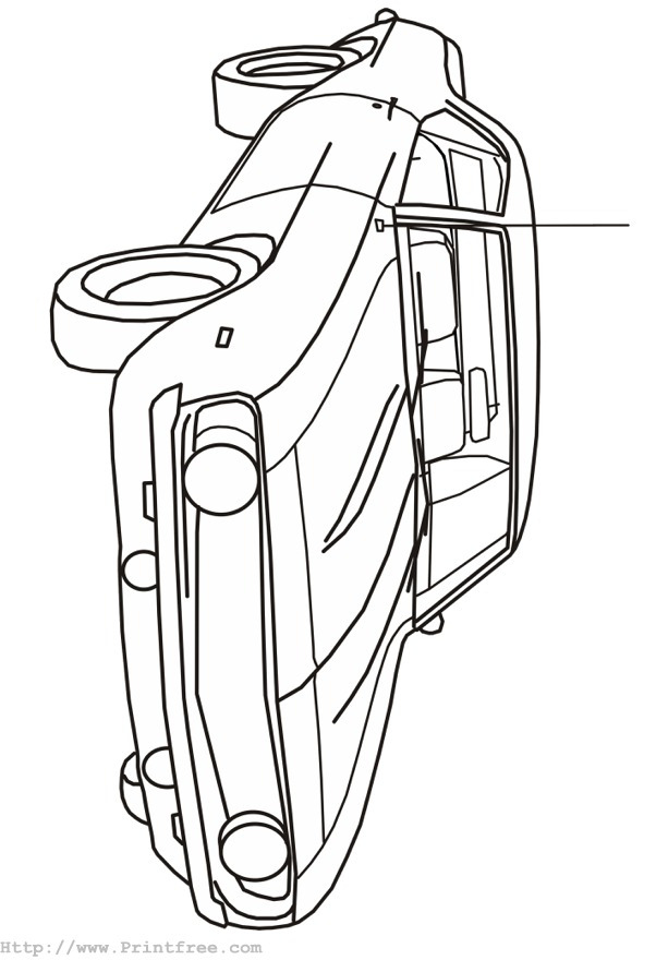 free cars mini cooper coloring pages