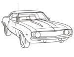 69 Camaro Ss Coloring Pages Coloring Pages