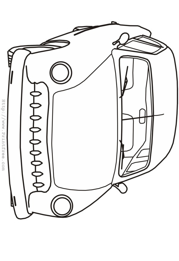 Late Forties Custom Outline Image Late Model Free Coloring Pages