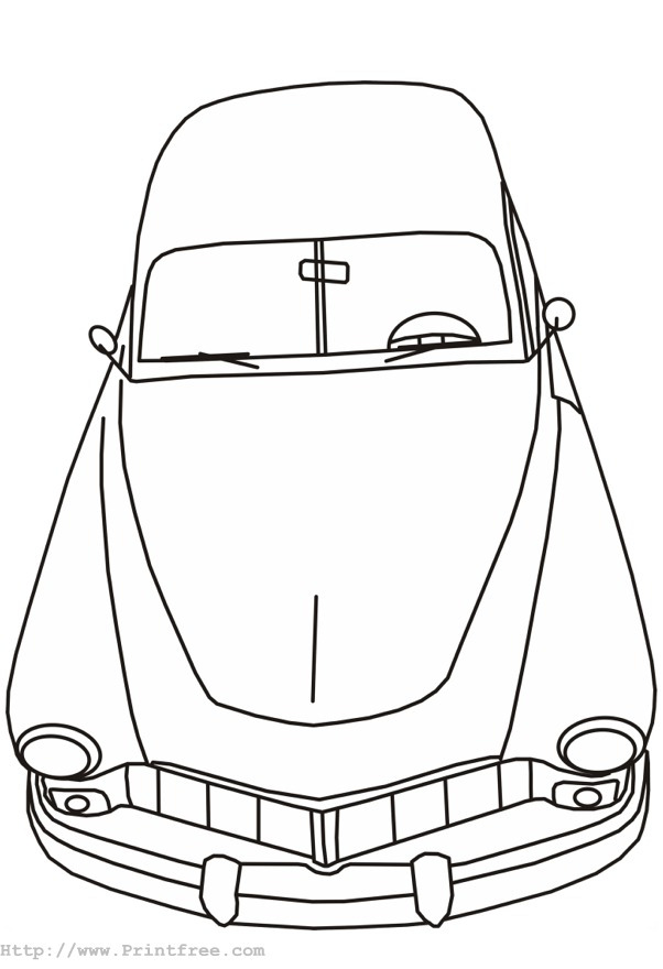 Basic Car Coloring Pages : Free coloring pages of auta