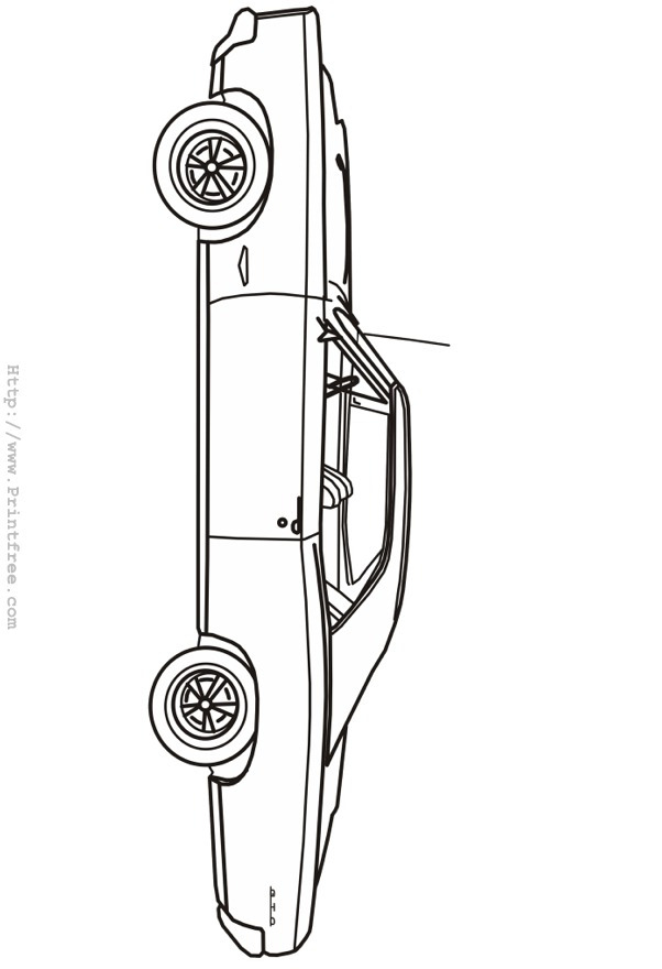 Pontiac gto car coloring pages coloring pages for Pontiac gto coloring pages