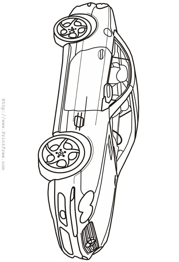 Free Printable Cars Coloring Pages, Page 2 of 2 - Associated