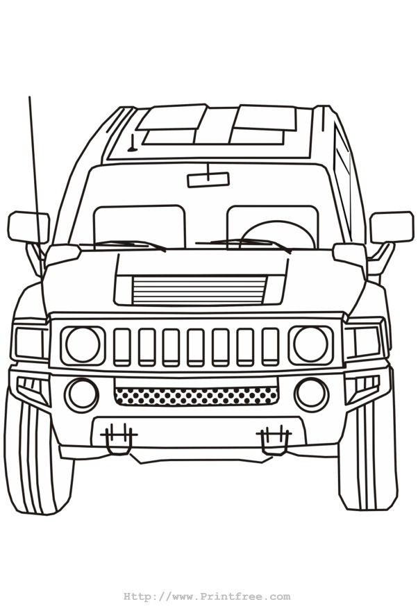 Bumper Car Coloring Pages : Coloring pages for bumper cars bugatti colouring