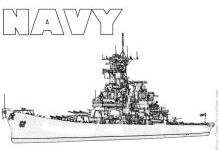 Navy ship coloring pages ~ Machinery Coloring Pages