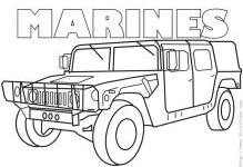 marine coloring pages